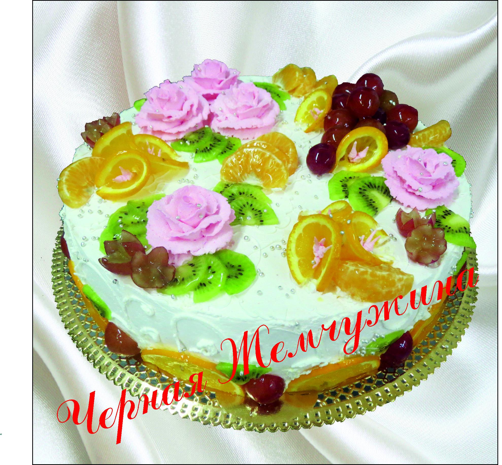 Торт из сливок с шоколадом фото 11